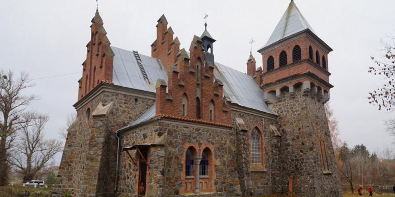 Городківка та її казковий костел